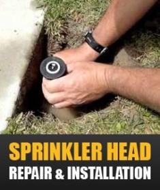 our pros can handle any sprinkler head installation and repair